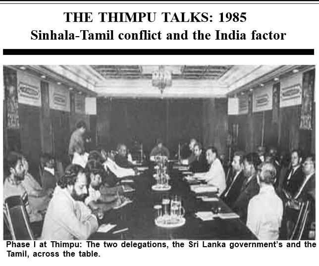 Book Cover: Thimpu talk